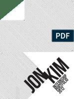Jon Kim portfolio 2012