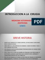 Introduccion a La Cirugia, Historia