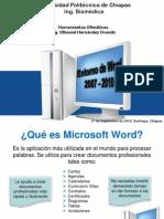 Entorno de Microsoft Word 2007 y 2010