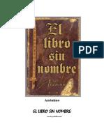 El libro sin nombre - Anónimo.pdf