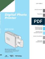 Sony Dpp-ex50 Manual Castellano