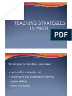 32 Teaching Strategies in Math
