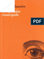 Jacques Rancieére_El espectador emancipado