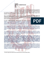 Una Nota Sobre Historia Economica y Economia Politica