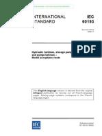 IEC 193 Turbine Test