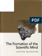 BACHELARD Formation of the Scientific Mind