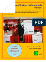 Alpha Eritrean Engineers' Magazine February's Issue