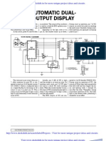 Automatic Dual Output Display