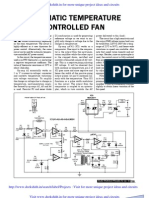 Automatic Temp Controlled Fan