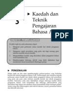 Topik 3 Kaedah Dan Teknik Pengajaran Bahasa Arab