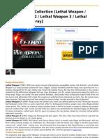 Lethal Weapon Collection (Lethal Weapon Lethal Weapon 2 Lethal Weapon 3 Lethal Weapon 4) [Blu