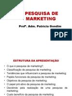 Ponto 7 Pesquisa de Marketing Ppt