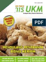 Majalah BisnisUKM Januari 2013