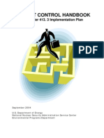 19068474 Project Control Handbook Implementation Plan