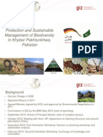 Protection and Sustainable Management of Biodiversity in Khyber Pakhtunkhwa, Pakistan.pptx