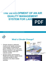 The Development of an Air Quality Management System for Lahore Pakistan.ppt