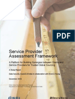 Service Provider Assessment Framework