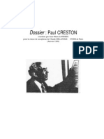 Dossier Paul CRESTON