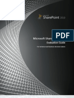 SharePoint 2010 Evaluation Guide