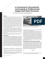 Impact Echo Scanninig for Discontinuity Detection and Imaging in Posttensioned Concrete Bridges and Other StructuresImpact echo scanninig for discontinuity detection and imaging in posttensioned concrete bridges and other structures