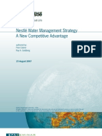 88031 Nestle - Water Management Strategy - A New Competitive Advantage EFAS 2007 Peer Ederer