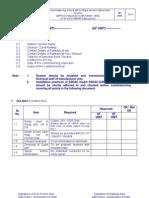Pre Commission Check List for 2DP1S-Ver1 PDF