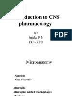 Introduction to CNS Pharmacology KFU 1