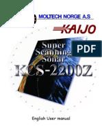 Kcs2200z English Usermanual