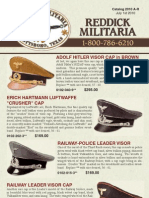 Current Militaria Flyers