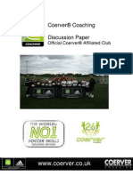 Coerver training drills