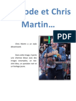 La Mode Et Chris Martin