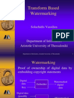 Transform Based Watermarking