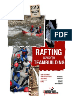 Calendar 2013 - Rafting, teambuilding si expeditiile Equilibrium TEAM - v4