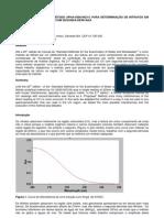 Artigo Nitrato Em UV Por 2a Derivada