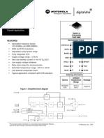 mc33493TANGO3 MC33493/D Rev. 1.6, 6/2002 PLL tuned UHF Transmitter for Data Transfer Applicationsdtbr2