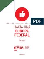 Hacia Una Europa Federal