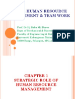 Kp6424 Hrm Chapter 1 -Strategic Role of Hrm