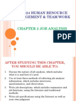 Kp6424 Hrm Chapter 2 - Job Analysis