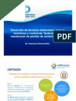 Monitoreo y Control de Biofouling