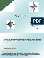 Ligações químicas 2010.2