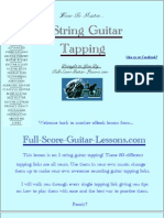 Guitar Tapping 1 Finger eBook