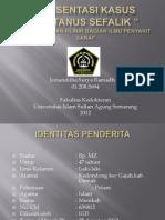 Presentasi Kasus Tetanus Sefalik Jorianditha