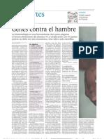 Genes contra el hambre - El País