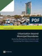 Urbanization beyond Municipal Boundaries