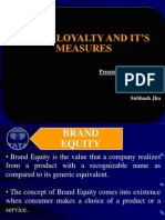 Brand Loyalty Ppt