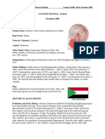 Sudan Profile