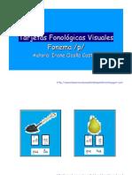 Tarjetas Fonologicas Visuales p