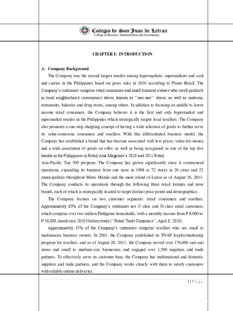 sari sari store research paper 91 121 113 106 sari sari store research paper