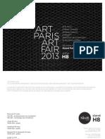 Slott Gallery | Art Paris Art Fair Art Design 2013