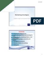 Clase 1 Planeacion Estrategica de Marketing